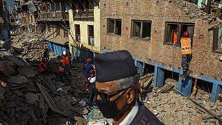 المساعدات الإنسانية تصل إلى القرى النائية في النيبال