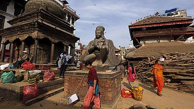 Nepal vows to rebuild historical sites left in ruins by earthquake