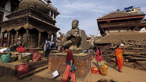 Землетрясение уничтожило культурные сокровища Непала