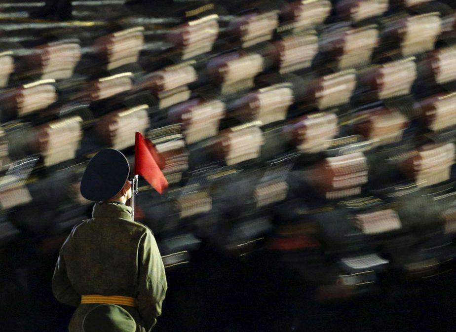La Russie se prépare pour le défilé de la Victoire