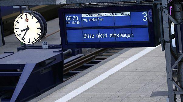 أطول إضراب لسائقي القطارات في ألمانيا