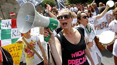 Proteste in Italien gegen geplante Schulreform