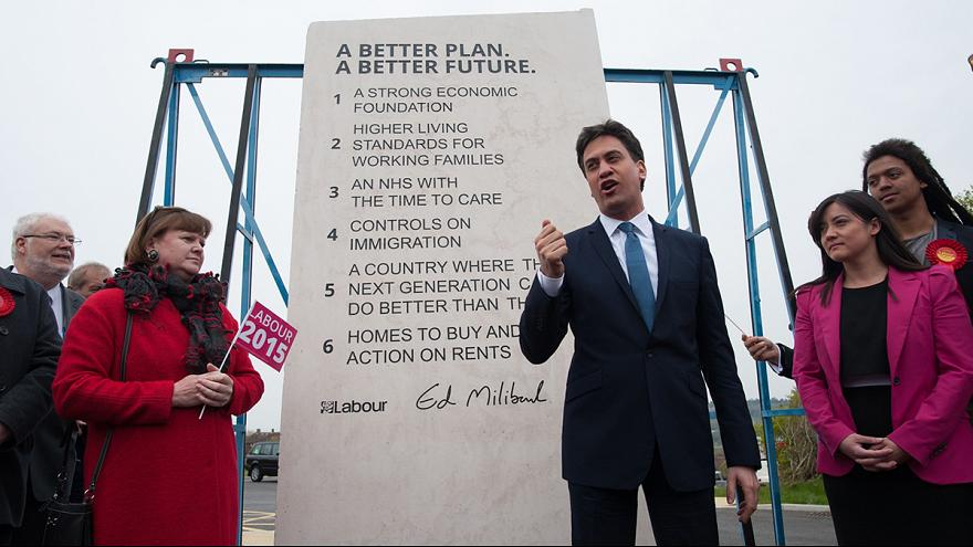 Los seis mandamientos de Ed Miliband