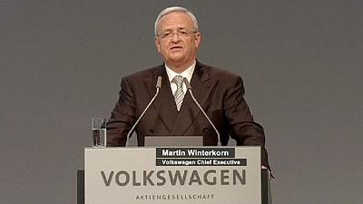 VW's Winterkorn says it's back to business for carmaker