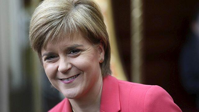 İngiltere seçimlerinin yıldızı SNP lideri Nicola Sturgeon