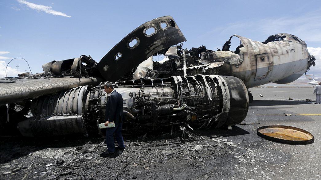 الحوثيون يقصفون مدينة نجران السعودية