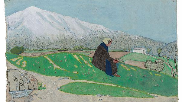 Νίκος Δραγούμης: Ο ζωγράφος και το έργο του στο Μέγαρο Εϋνάρδου