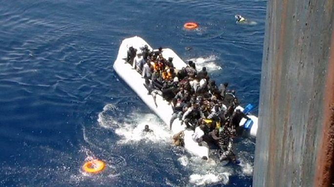 Menekültek tragédiája a Földközi-tengeren