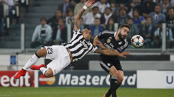Juventus stun holders Real Madrid in Champions League semi-final