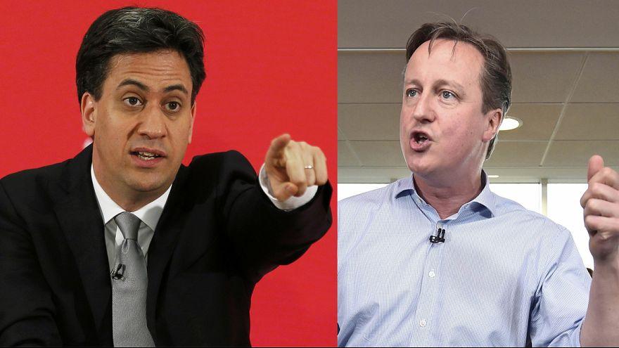 Recta final para las elecciones británicas más ajustadas de los últimos cuarenta años