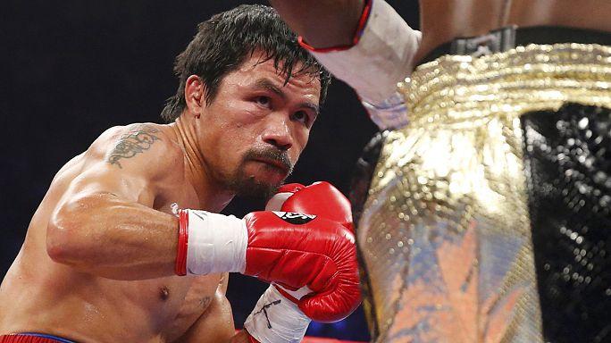 Jogi lépéseket tehetnek a híres ökölvívó, Manny Pacquiao ellen