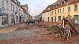 Шторм на севере Германии