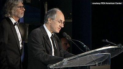 Charlie Hebdo honoured in New York