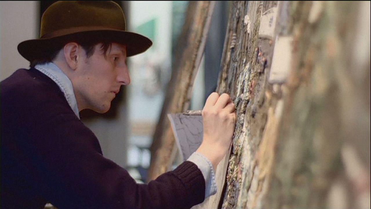 Kunst mit Relief: Gemälde aus Knetmasse