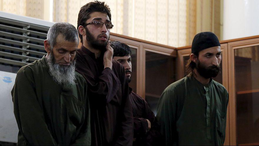 Ferhunde'yi öldüren 4 Afgan sanığa idam cezası