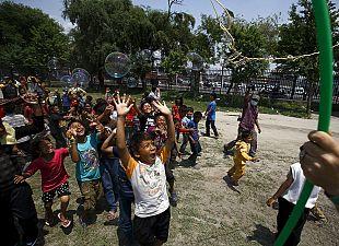 Treating trauma in Nepal