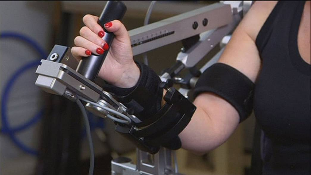 Robots help stroke victims regain use of arms