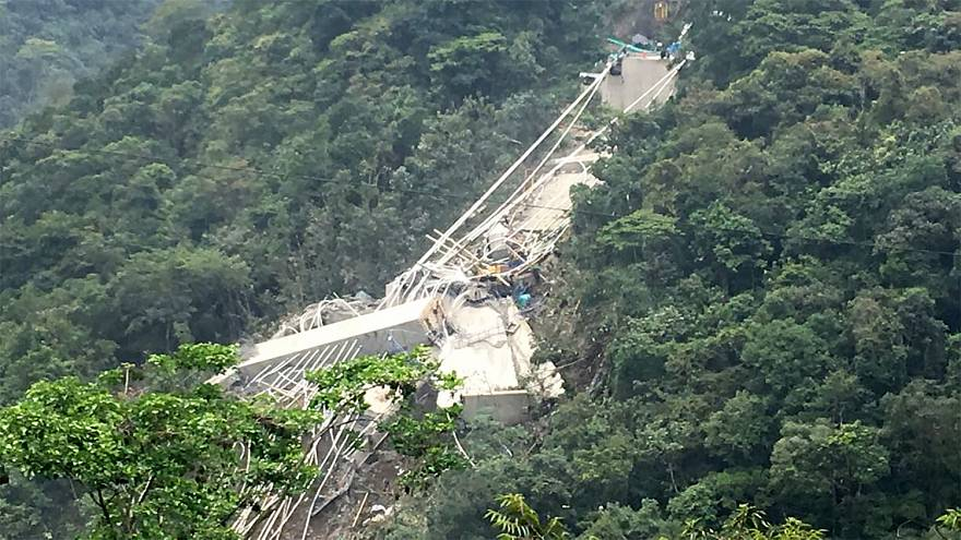 Image: Colombia Bridge Collapse