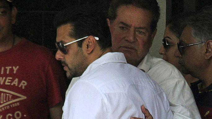 El famoso actor indio, Salman Khan, condenado a cinco años por homicidio involuntario