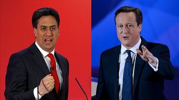 رقابت فشرده حزب کارگر و حزب محافظه کار در زمینه های مشابه