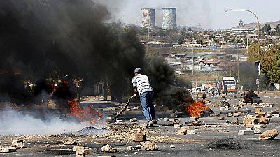 Südafrika: Protest in Johannesburg gegen hohe Strompreise