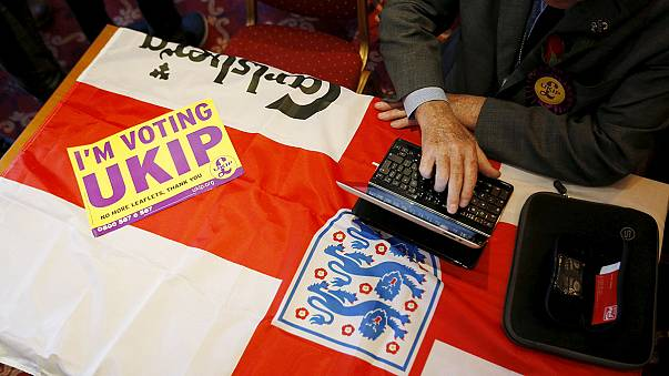 UKIP-Chef Farage am Rande der Wahlniederlage