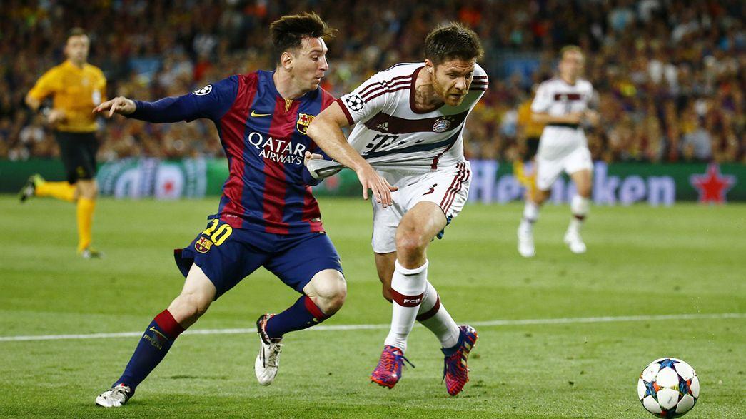 Champions League: Barcelona stun Bayern