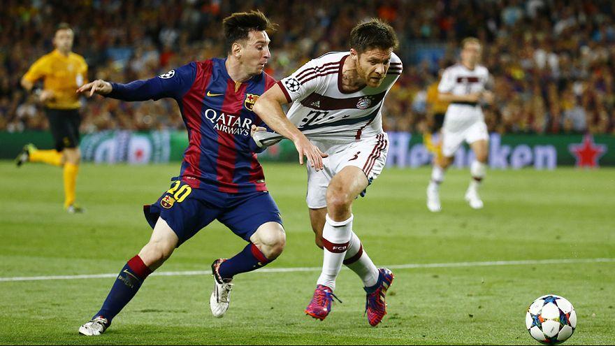 Messi tumba el muro de Neuer y el Barça golea al Bayern 3-0