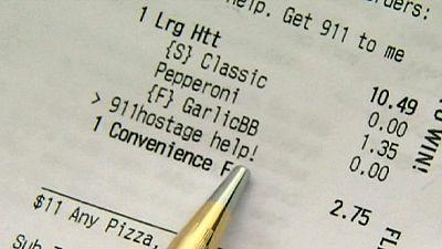EUA: Salva de um sequestro por uma pizza de 10 dólares