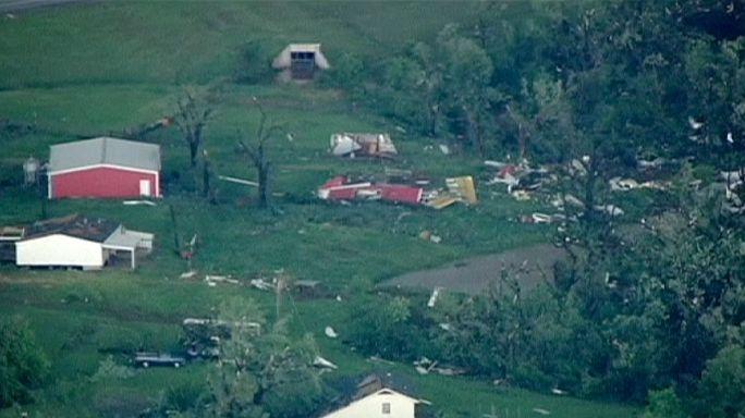 Le centre des Etats-Unis balayé par des tornades
