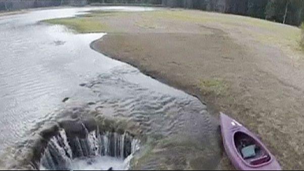 USA: titokzatos módon eltűnt egy tó Oregonban