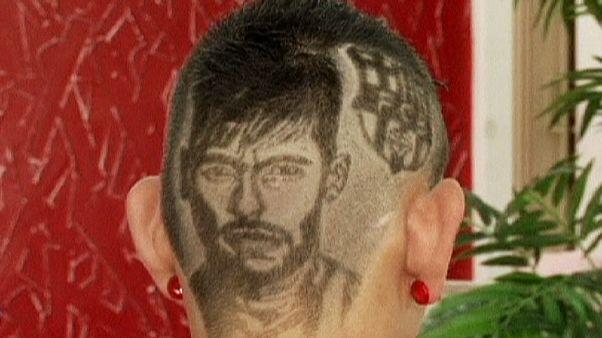 Hairy homage to Neymar