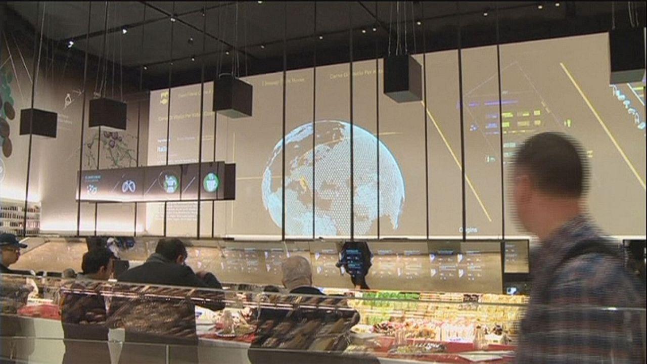 Supermercado do futuro abriu portas na EXPO 2015 de Milão