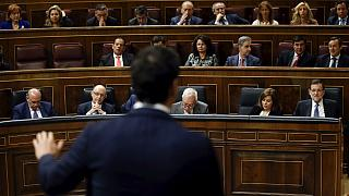 Podemos support plunges in poll amid party infighting