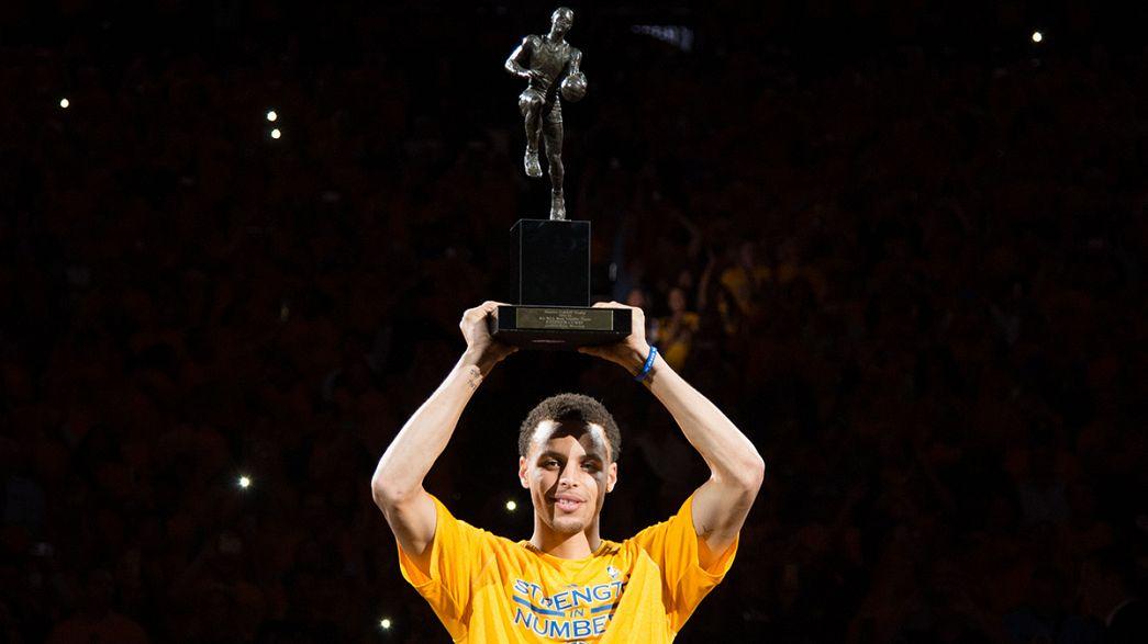 Kleiner Mann ganz groß: Stephen Curry ist wertvollster Spieler der NBA