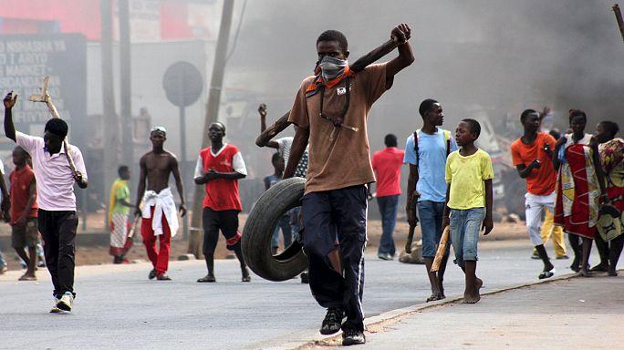 Эскалация насилия в Бурунди