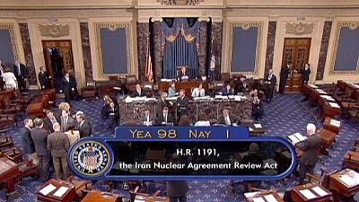 El Senado de EE UU avala que el Congreso revise acuerdo nuclear iraní