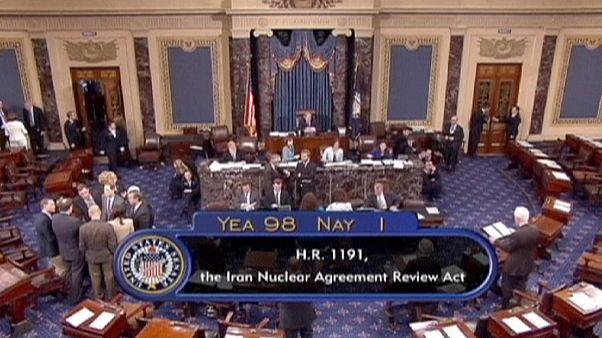 مجلس الشيوخ الأمريكي يصوت لقرار مُقيِّد لأوباما في التفاوض مع طهران