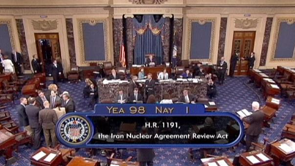 US Senate supports bill for Congress role in Iran nuclear deal