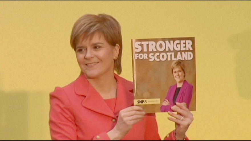 El Partido Nacionalista Escocés será la tercera fuerza británica, según sondeo
