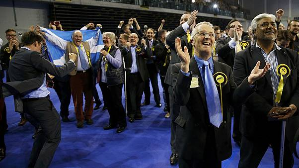 Nationalists on track for landslide win in Scotland