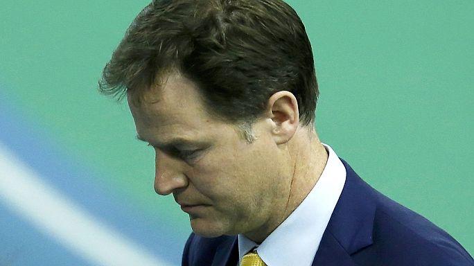 نيك كليغ يُنقذ بالكاد مقعده البرلماني في الانتخابات التشريعية البريطانية