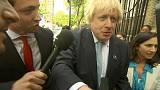 Le show de Boris Johnson lors de son vote