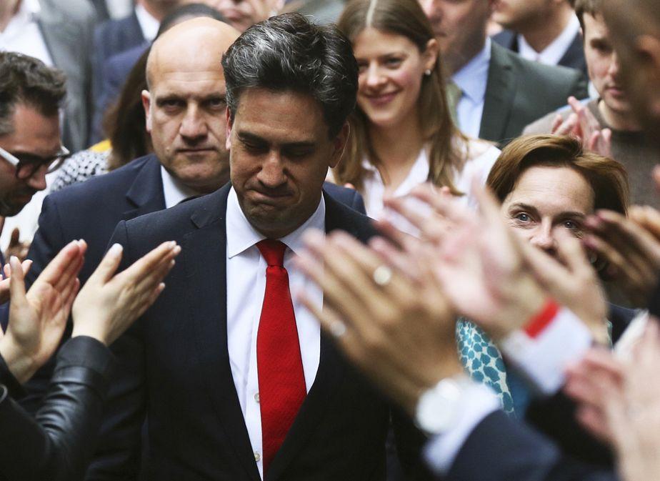 Mauvaise journée pour Ed Miliband