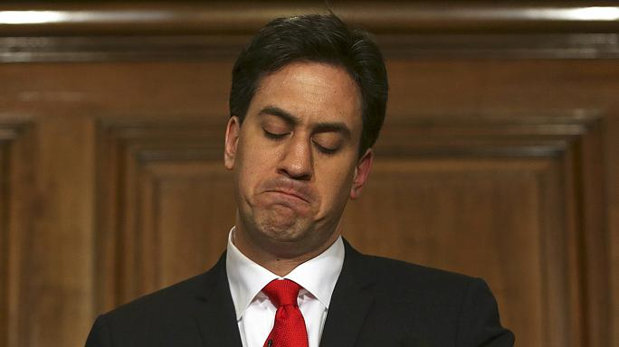 Miliband tenders his resignation after Labour's crushing defeat