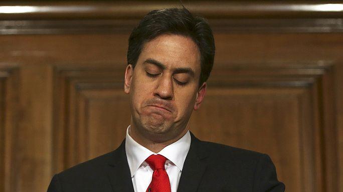 İngiltere'de seçim mağlubiyetinin ardından İşçi Partisi lideri Ed Miliband istifa etti