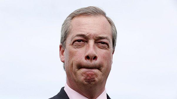 """İstifa eden UKİP lideri Farage: """"Seçim sistemi değişmeli"""""""