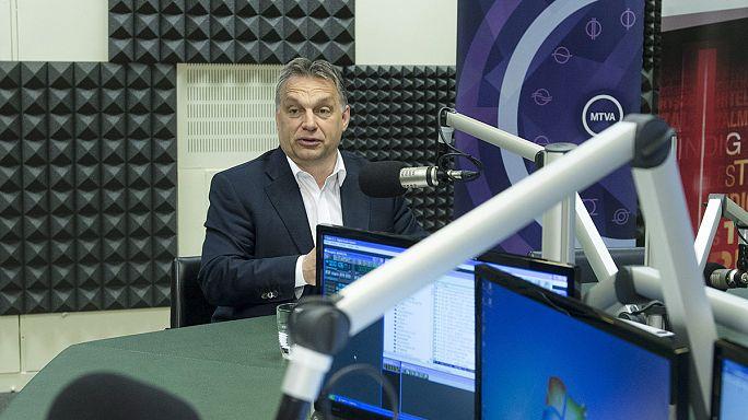 Orbán házibulihoz hasonlította a bevándorlás kérdését
