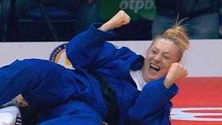 Grand Slam de Baku: Erika Miranda é ouro