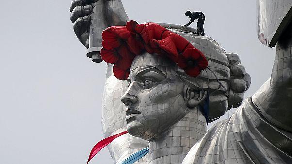 برگزاری جشن پایان جنگ جهانی دوم در اوکراین